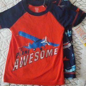 NWT Boys PJ Shirts